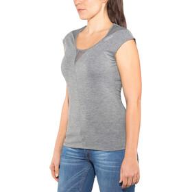 Odlo Revolution TS X-Light Shirt SS Crew Neck Damen steel grey melange